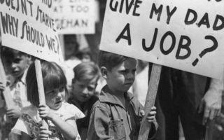 Причины мирового экономического кризиса 1929 — 1933